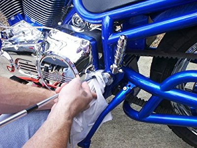 Полировка деталей мотоцикла. Фото 3