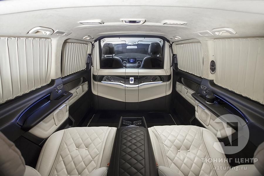 Тюнинг салона Mercedes Benz V-Class. Фото 2, А1 Авто