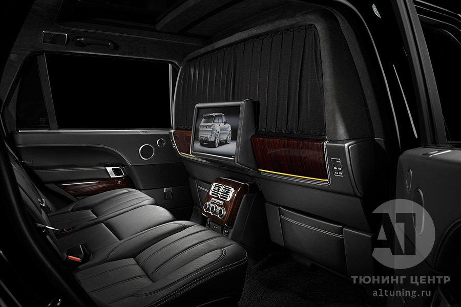 Салон Range Rover фото 3, А1 Auto