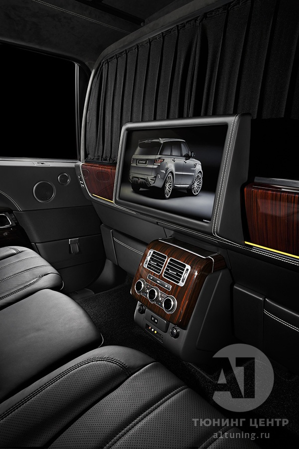Фото кожаного салона Range Rover фото, А1 Авто