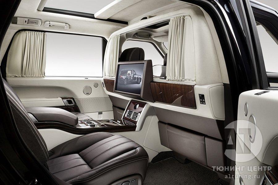 Тюнинг салона  Range Rover фото 4, А1 Auto