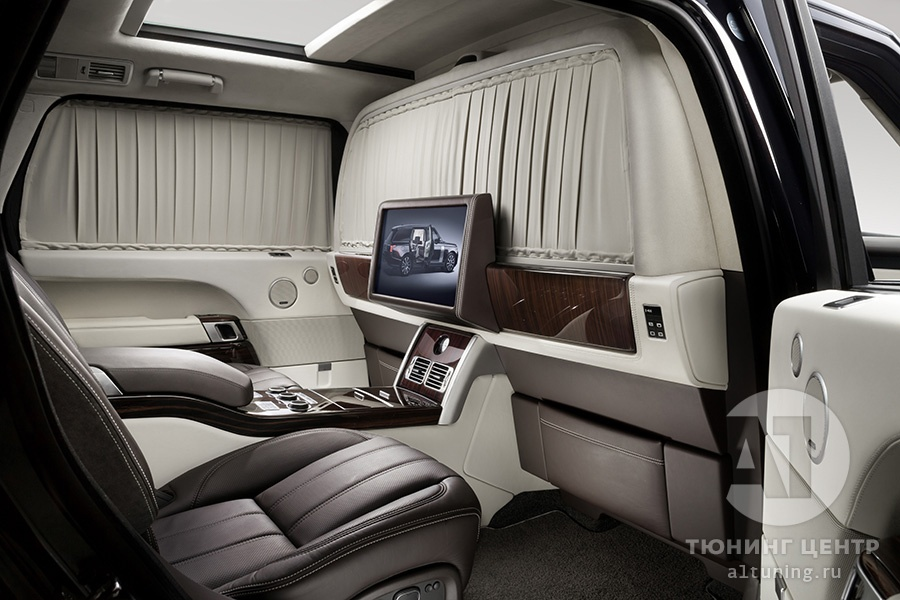 Тюнинг Range Rover. А1 Авто