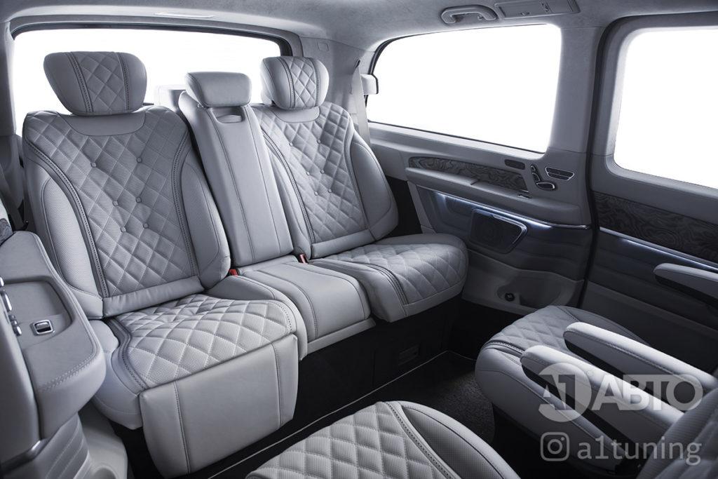 Салон Mercedes Benz V-Class Business Jet фото 4, А1 Авто