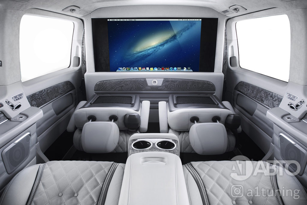 Салон Mercedes Benz V-Class Business Jet фото 1, А1 Авто