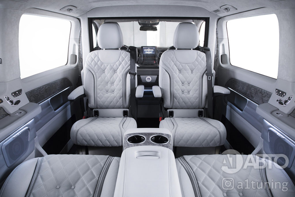 Тюнинг Mercedes Benz V-Class Business Jet
