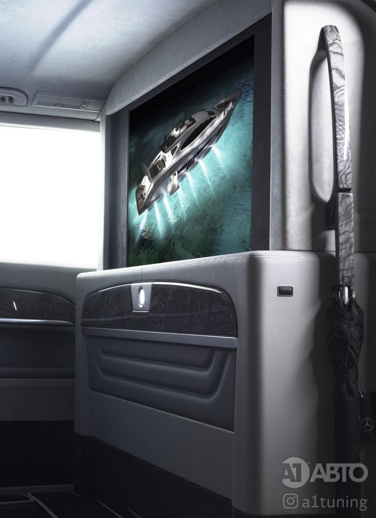 Салон Mercedes Benz V-Class Business Jet фото 3, А1 Авто