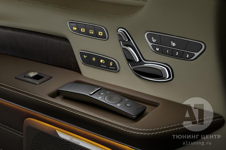Фото кожаного салона Mercedes Benz V-Class. А1 Авто