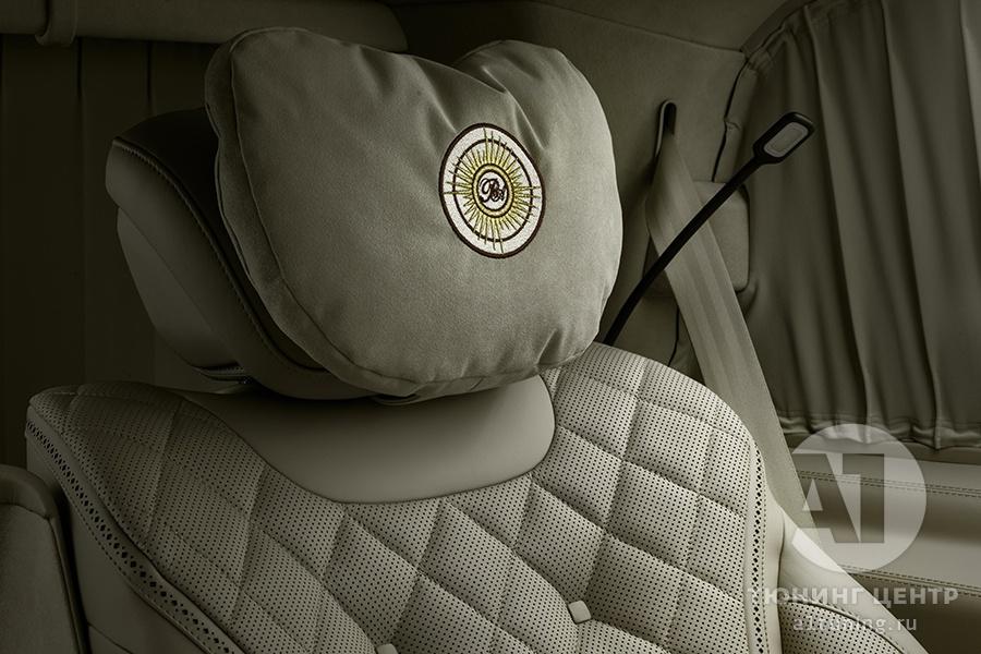 Кожаный салон. Mercedes Benz V-Class. Фото