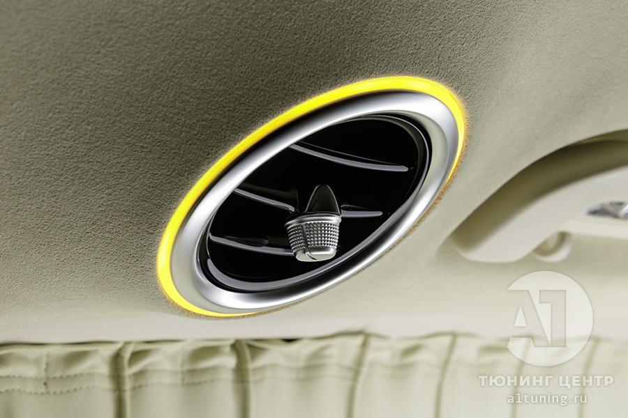 Кожаный салон. Mercedes Benz V-Class. Фото 1