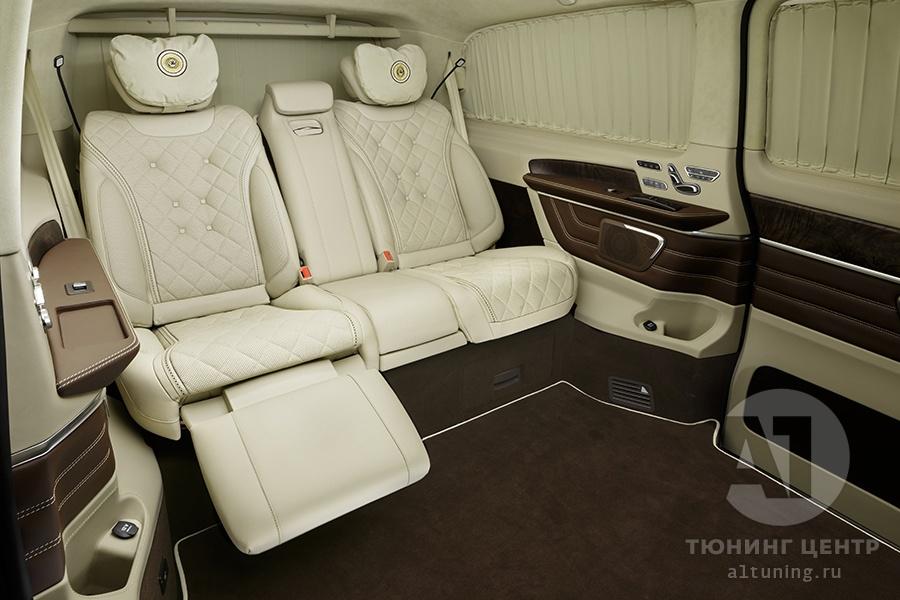Кожаный салон. Mercedes Benz V-Class. Фото 6. А1 Авто