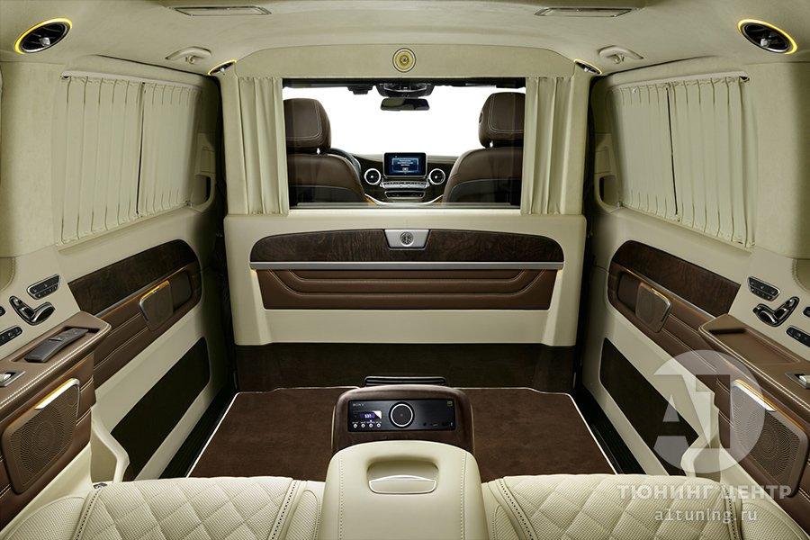 Кожаный салон. Mercedes Benz V-Class. Фото 7. А1 Авто