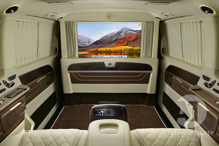 Кожаный салон. Mercedes Benz V-Class. Фото 8. А1 Авто