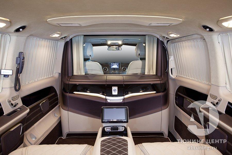 Тюнинг салона Mercedes Benz V-Class. Фото 1, А1 Авто