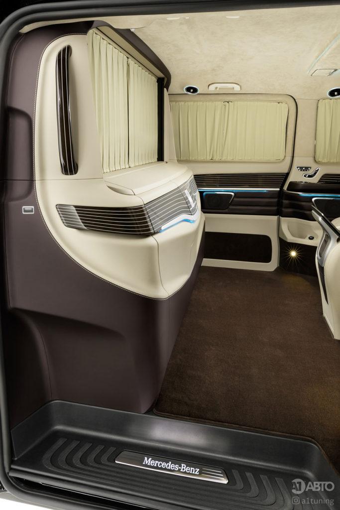 Тюнинг салона Mercedes-Benz V-VIP фото 5, А1 Авто