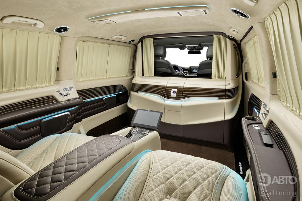 Тюнинг салона Mercedes-Benz V-VIP фото 3, A1 Auto