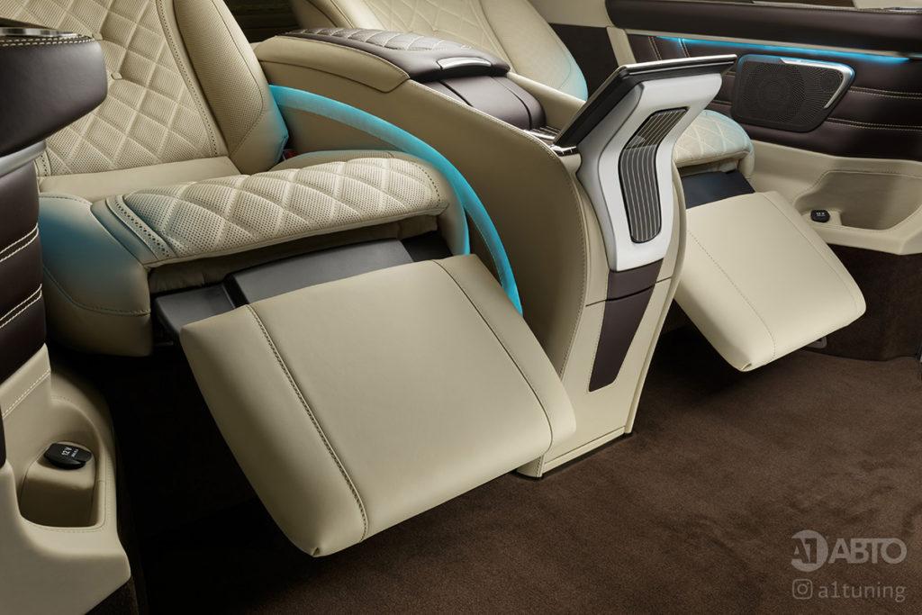 Фото кожаного салона Mercedes-Benz V-VIP. A1 Auto