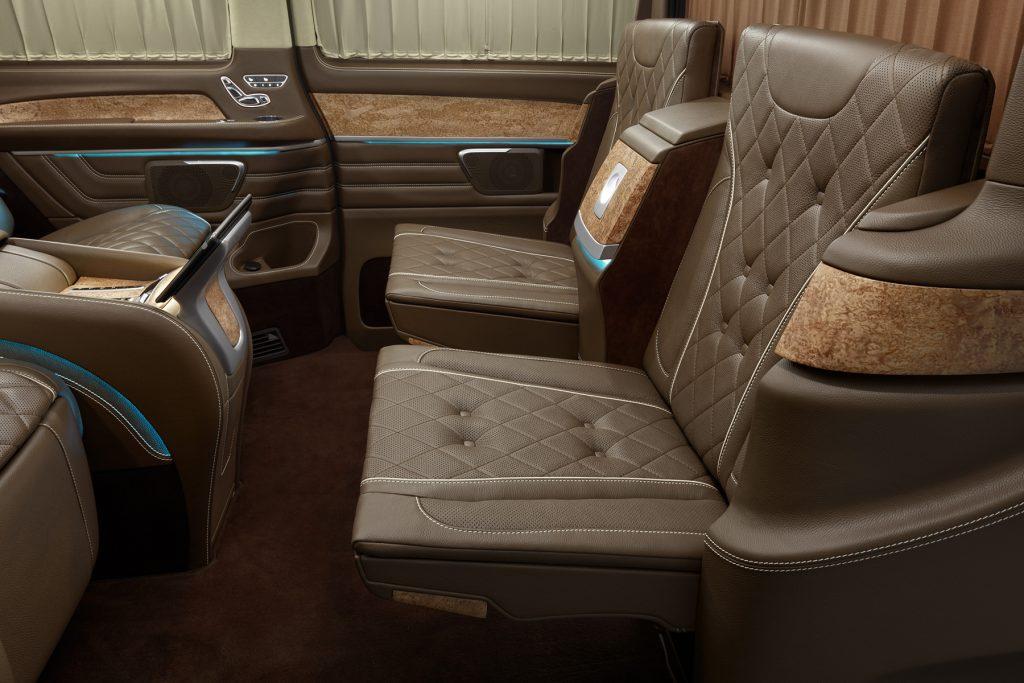 Cалон Mercedes Benz V-VIP. Фото 7, А1 Авто.