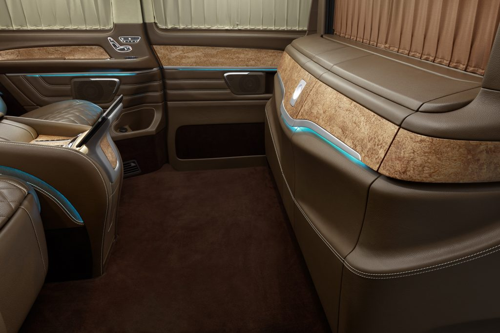 Cалон Mercedes Benz V-VIP. Фото 5, А1 Авто.