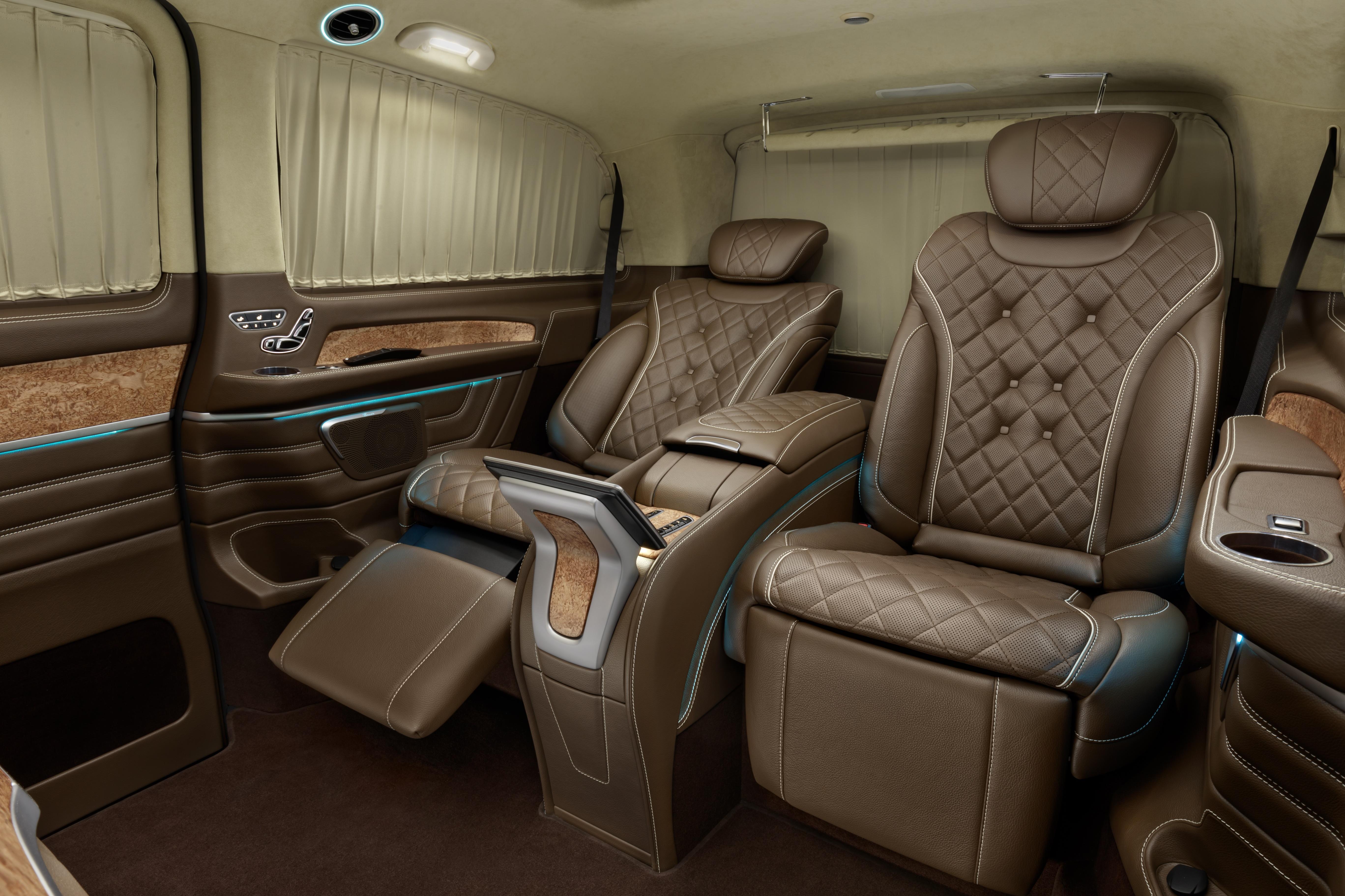 Фото кожаного салона Mercedes Benz V-VIP, A1 Auto
