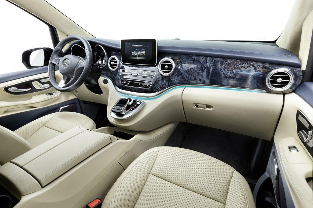 Тюнинг салона Mercedes-Benz V-Class Chairman. Фото 6, А1 Авто