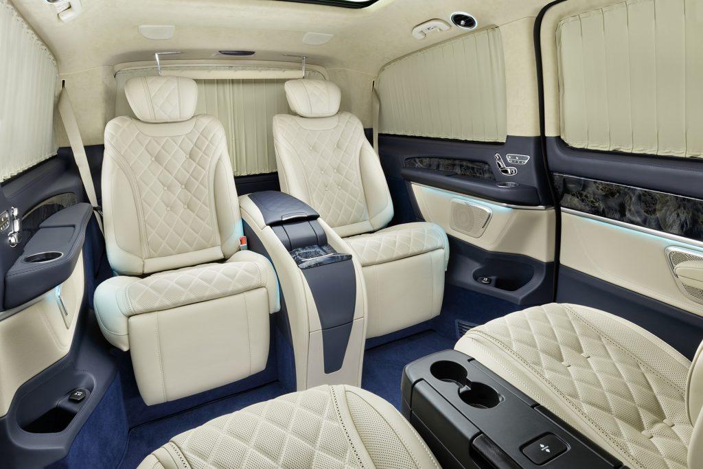 Тюнинг салона Mercedes-Benz V-Class Chairman. Фото 1, А1 Авто