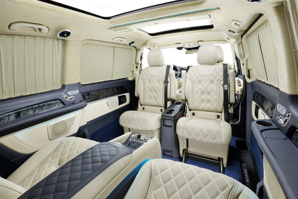 Тюнинг салона Mercedes-Benz V-Class Chairman. Фото 2, А1 Авто