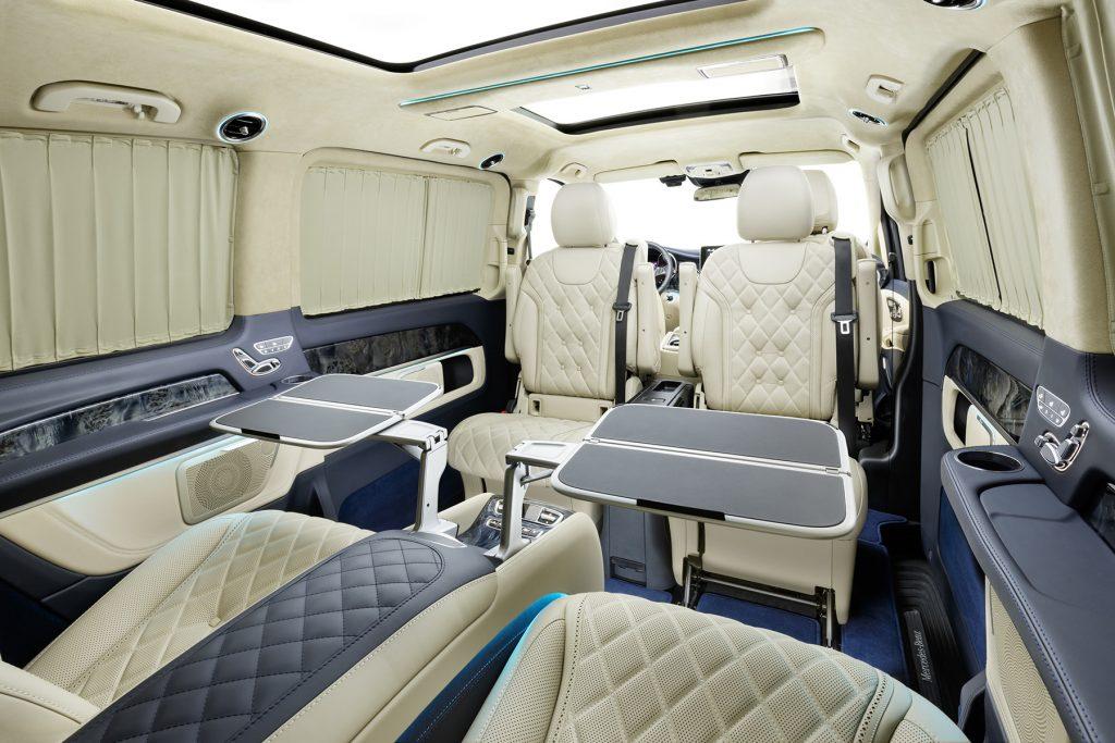 Тюнинг салона Mercedes-Benz V-Class Chairman. Фото 3, А1 Авто