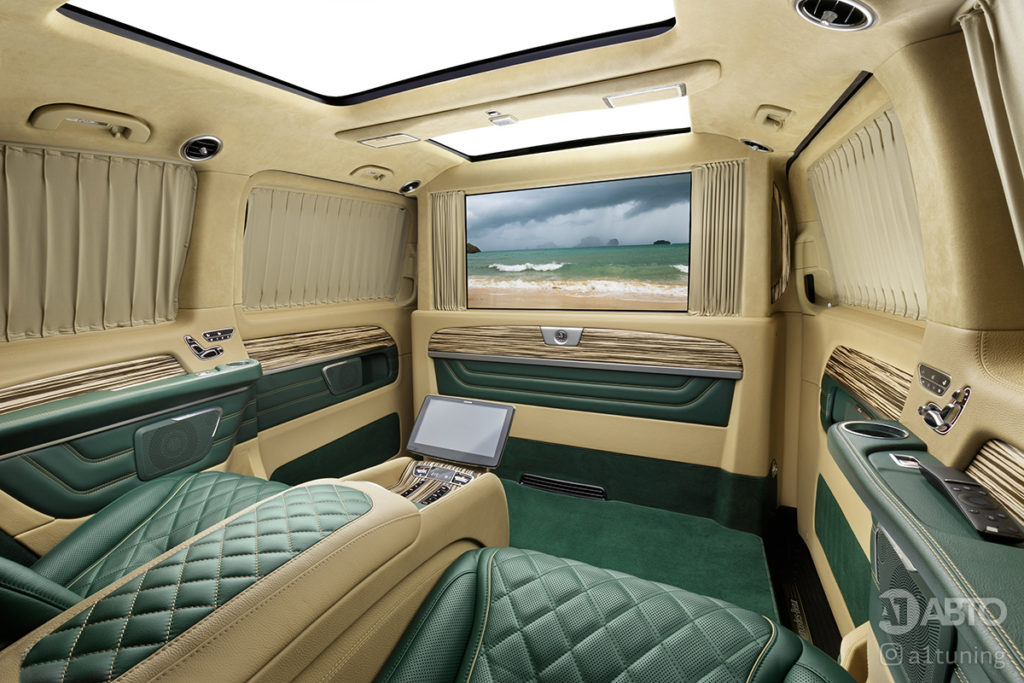 Фото кожаного салона Mercedes-Benz V-Business Jet. A1 Auto