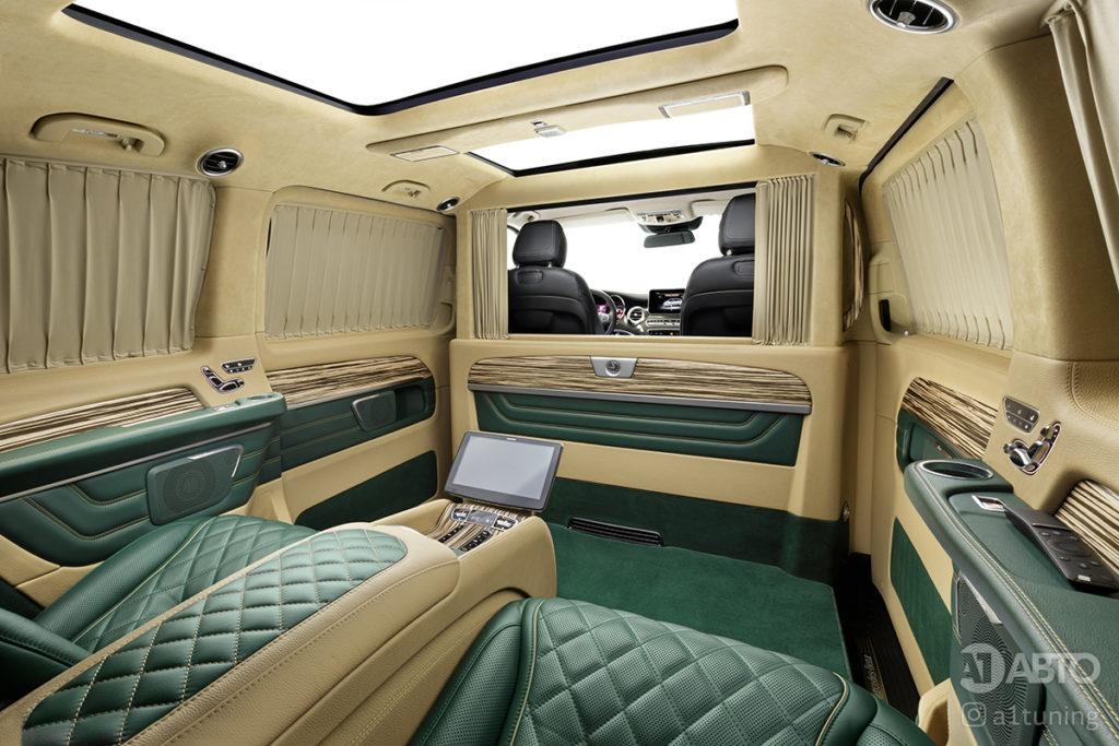 Тюнинг салона Mercedes-Benz V-Business Jet. А1 Авто