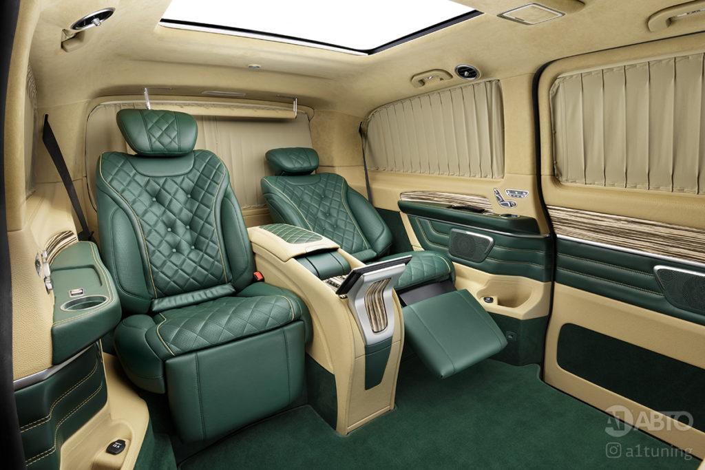 Тюнинг салона Mercedes-Benz V-Business Jet фото 2, А1 Авто