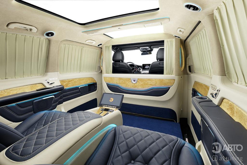 Тюнинг салона Mercedes-Benz V-Business Jet фото 3, А1 Авто