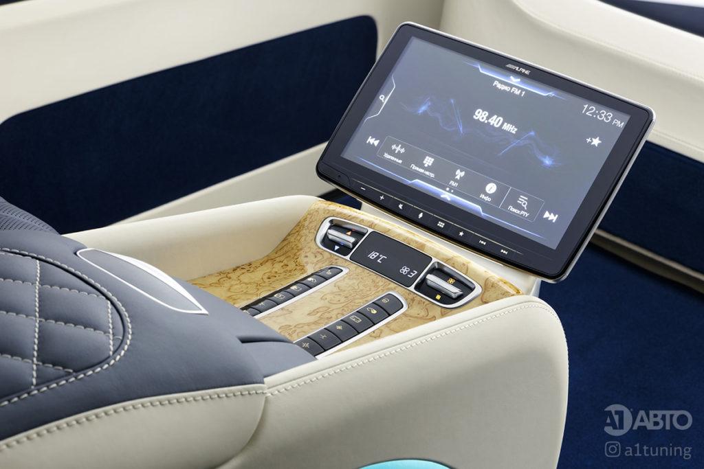 Тюнинг Mercedes-Benz V-Business Jet фото 2, A1 Auto