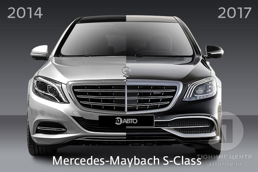 Обвес Рестайлинг Maybach для W222 2017+