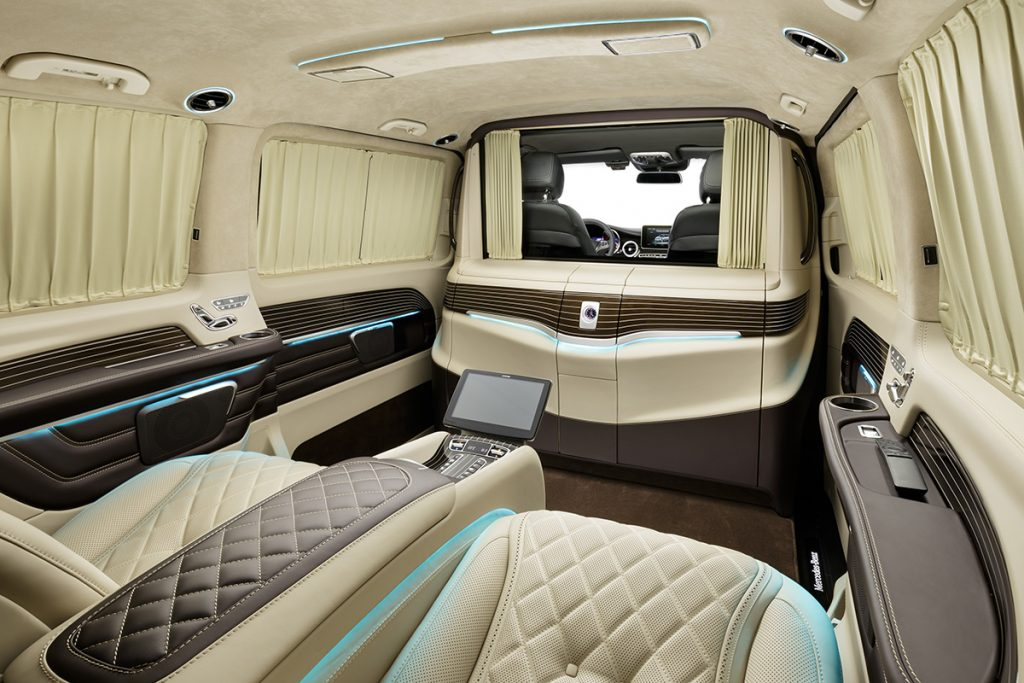 кожаный салона Mercedes-Benz V-class, А1 Авто