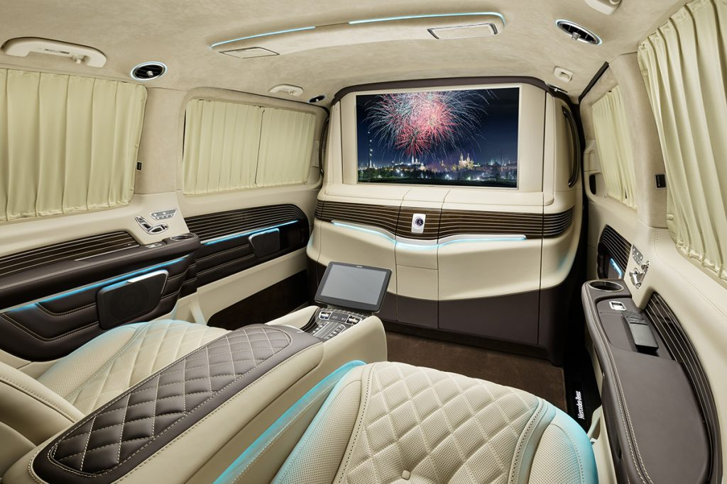 Фото салона Mercedes-Benz V-class