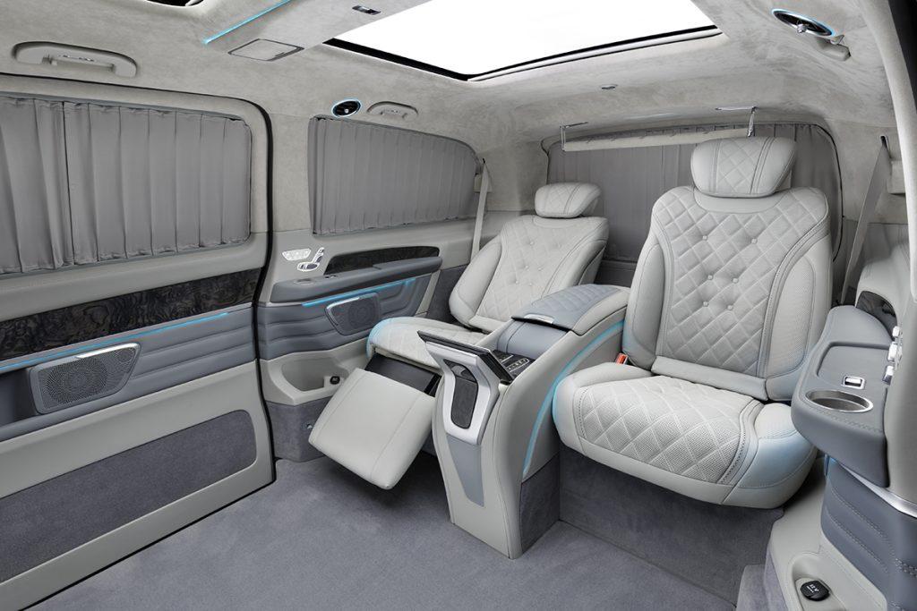 Тюнинг салона Mercedes-Benz V-class фото 4, А1 Auto