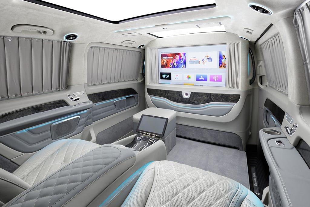 Кожаный салон Mercedes-Benz V-class фото 3, А1 Авто