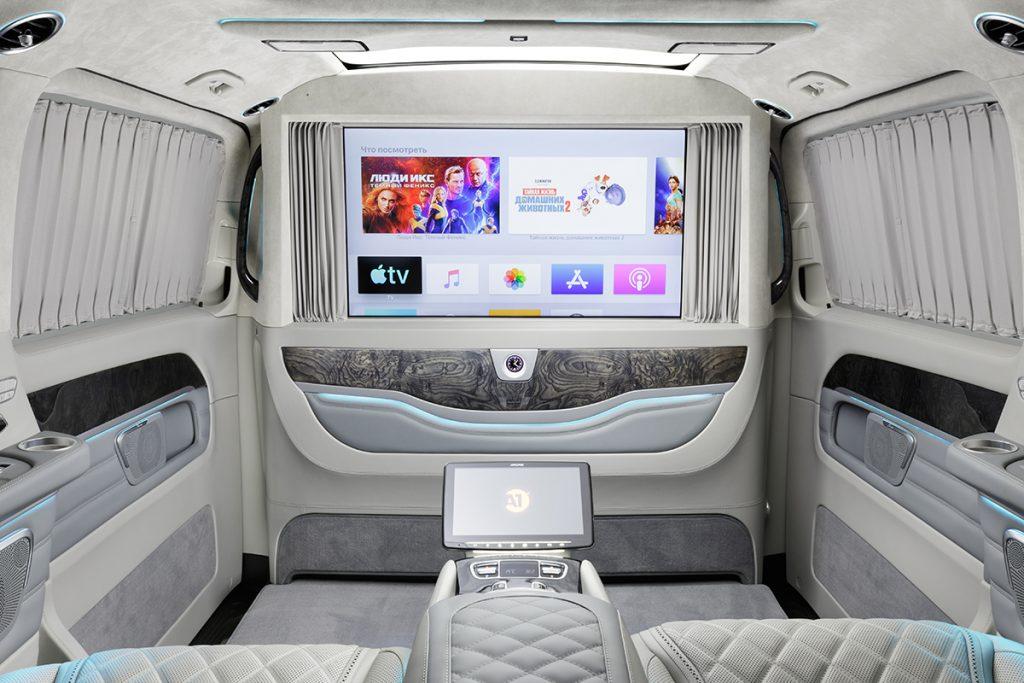 Тюнинг салона Mercedes-Benz V-class фото 1, А1 Авто