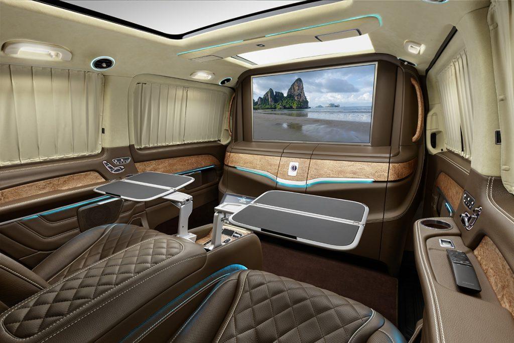 Фото кожаного салона Mercedes-Benz V-class, А1 Авто