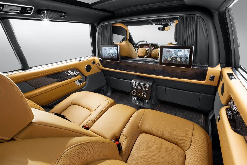 Range Rover Autobiography фото салона