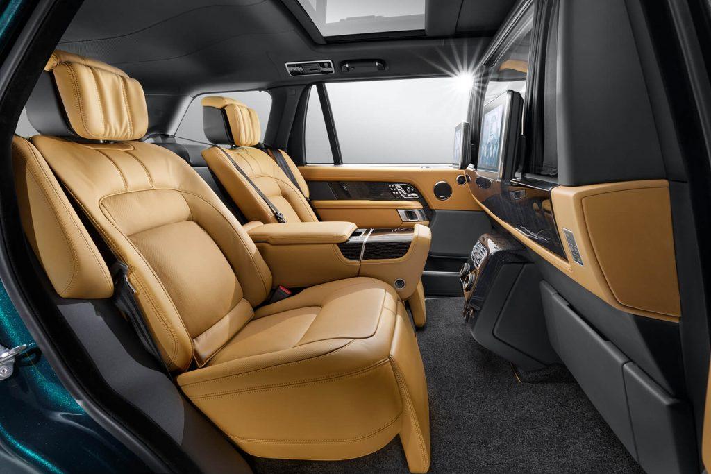 Range Rover Autobiography кожаные кресла