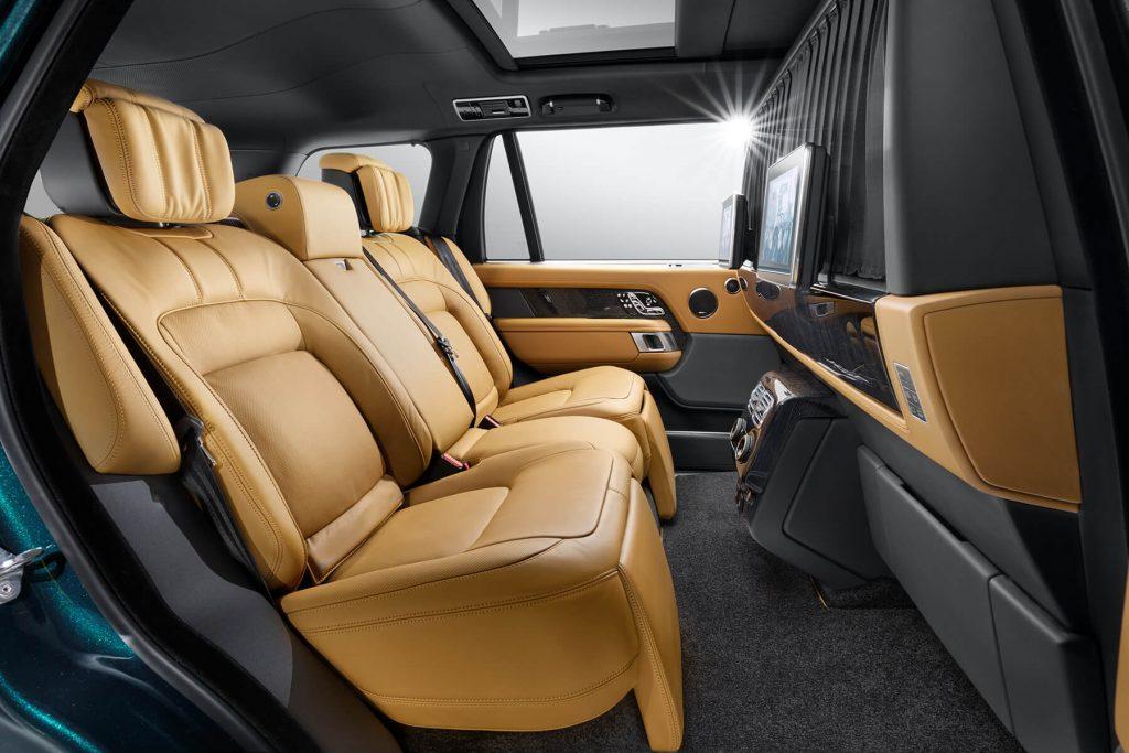 Range Rover Autobiography кожаные кресла. А1 Авто
