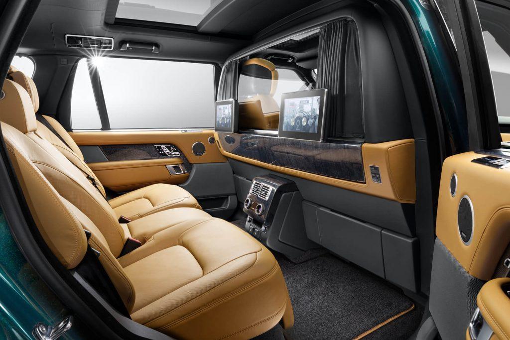 Range Rover Autobiography кожаный салон
