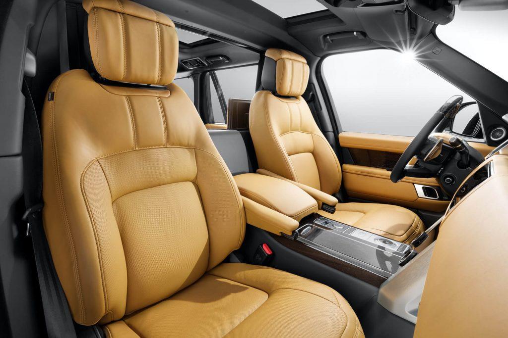 Салон Range Rover Autobiography