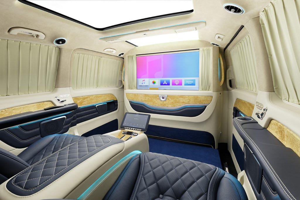 Тюнинг салона Mercedes-Benz V-class фото 5, А1 Auto