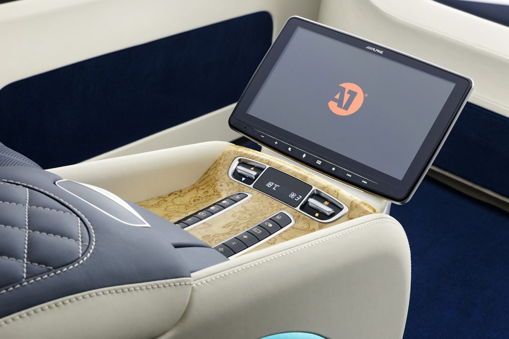 Тюнинг салона Mercedes-Benz V-class фото 7, А1 Auto