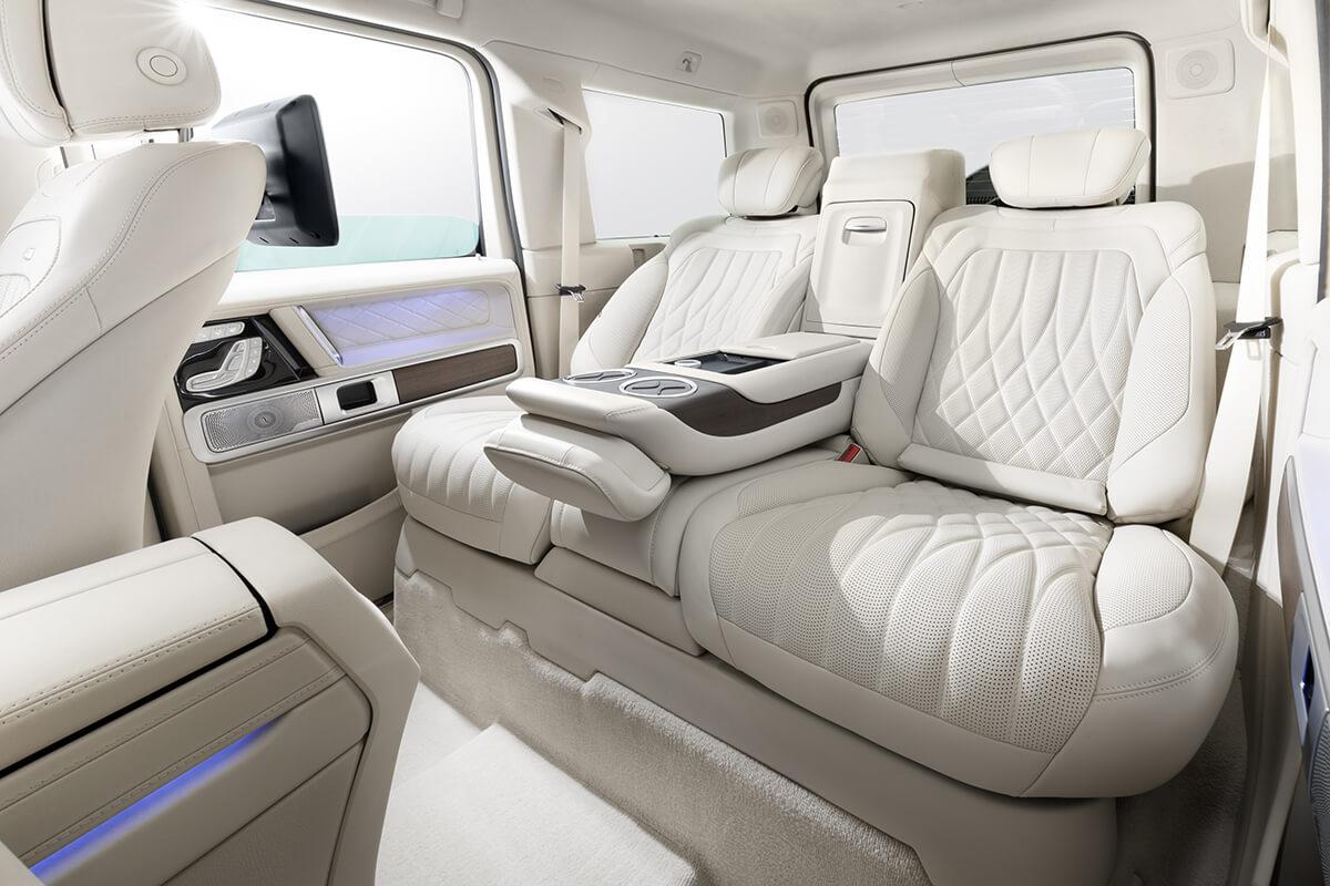 Mercedes-Benz G-class салон. А1 Авто