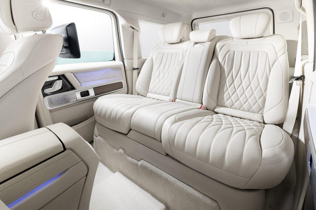 Mercedes-Benz G-class фото салона после тюнинга