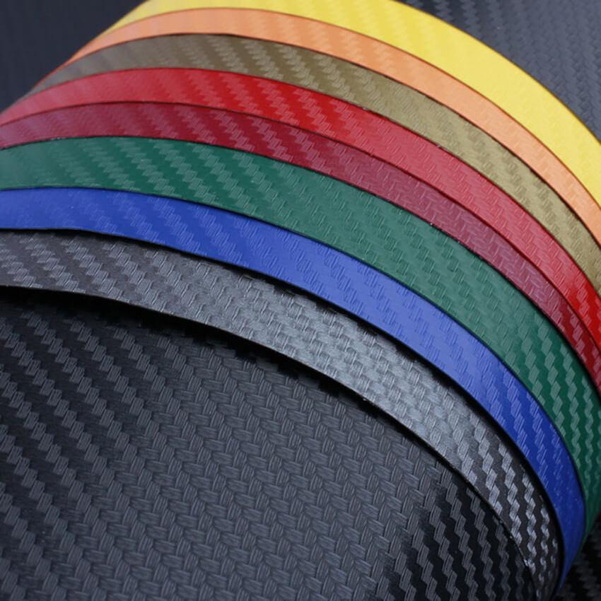 стайлинг пленкой, разные цвета, фото